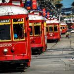 New Orleans Canal Streetcars